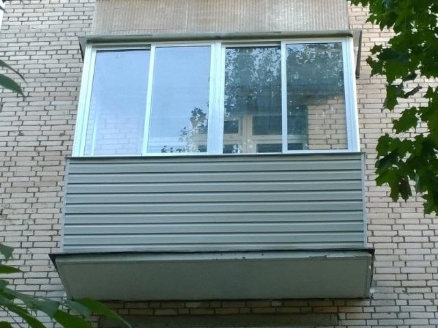 Застеклить балкон алюминиевым профилем в уфе. цена. фото..
