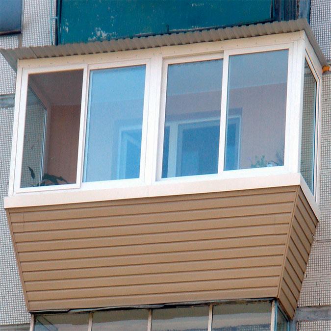 Остекление балкона с выносом в москве цены.