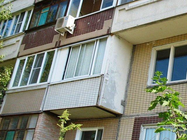 Отделка балконов п-47.