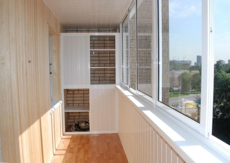 Как отделать балкон внутри - всё о балконе.
