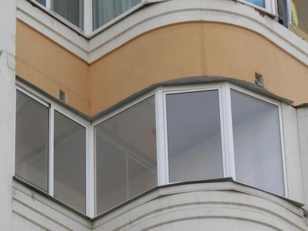 26 000.остекление балконов и лоджий. экобалкон.