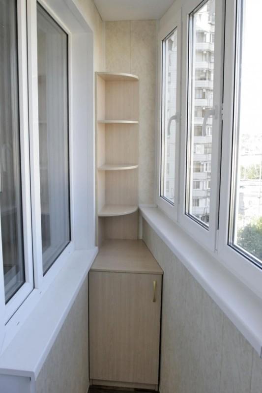 Остекление и отделка балконов и лоджий п-44 в москве и мо.