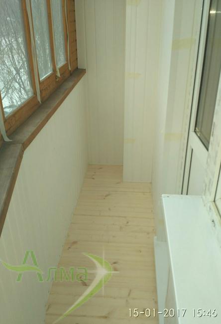 Отделка балконов и лоджий под ключ цены фото.