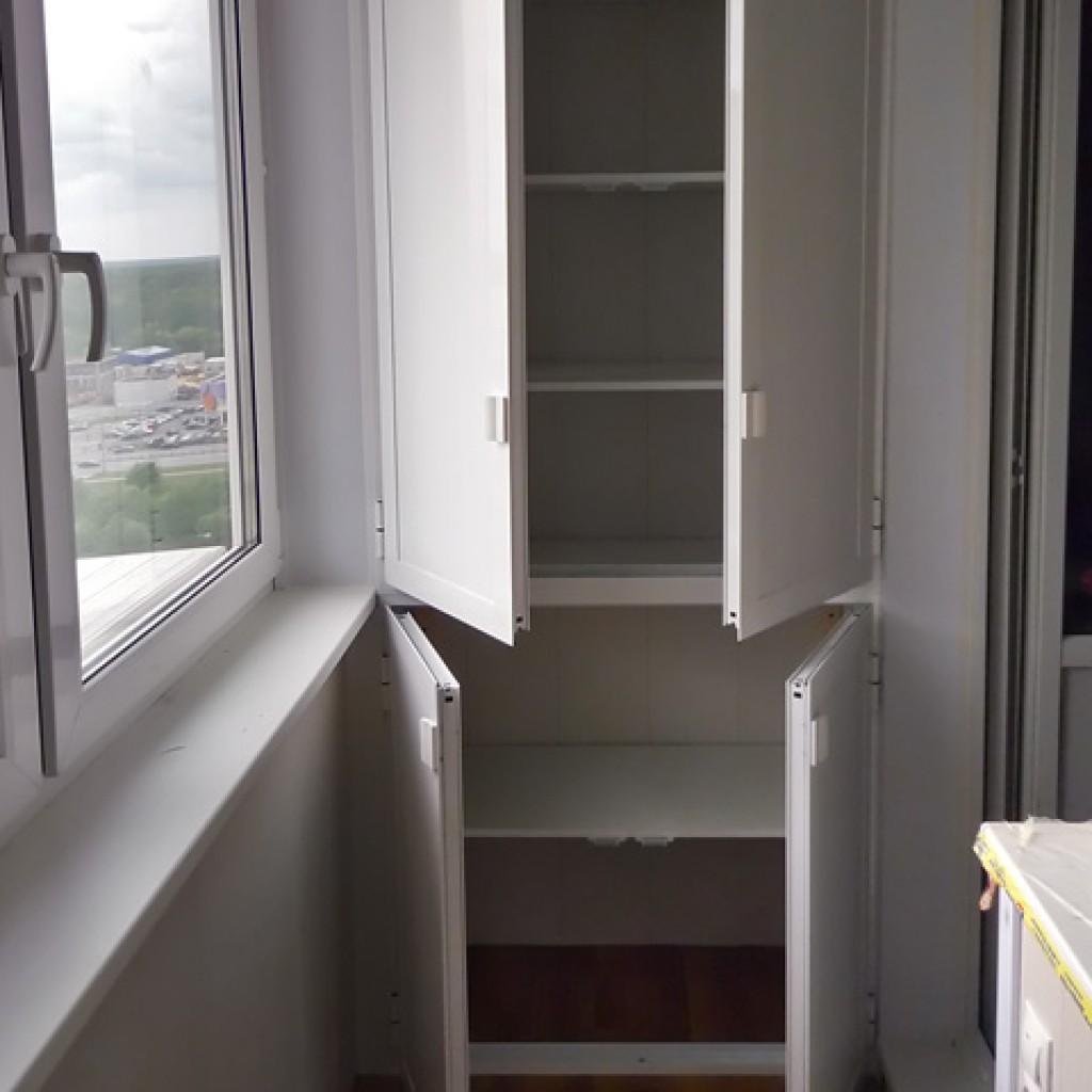 Как сделать шкаф на балконе своими руками, выбираем шкаф на .