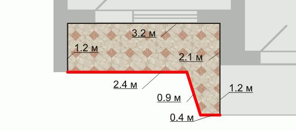 Размеры лоджии сапог.